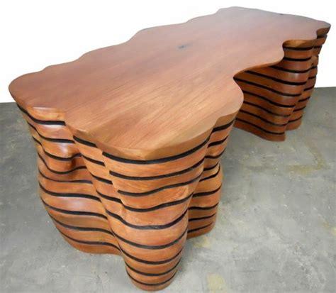 bureau amovible meuble de bureau en bois design et original