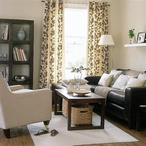 living room decor with leather sofa dark brown couch living room decor relaxed modern living