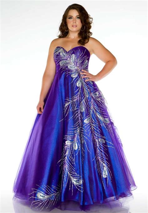 size prom dresses trends
