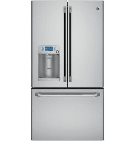 Cabinet Depth Door Refrigerator Stainless by Ge Cafe Series Cye22ushss Cye22ushss 22 2 Cu Ft