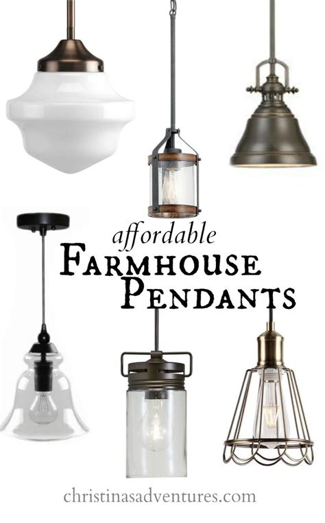 kitchen pendant lighting affordable kitchen design elements farmhouse pendant 2426
