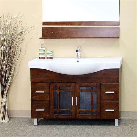 Shop Bathroom Vanity by Bellaterra Home 203138 48 In Single Sink Bathroom Vanity