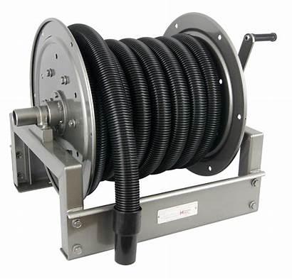 Vacuum Industrial Reel Reels Hannay Strength Introduces
