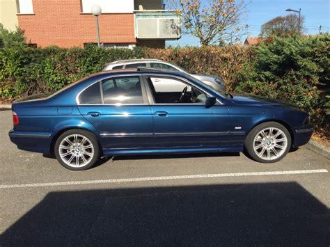 E39 535i V8 Orient Blue Pics Sold