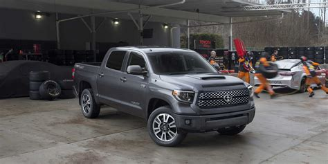 toyota tundra 2018 toyota tundra trd sport vehicles on display