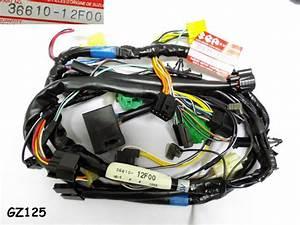 Suzuki Gz125 Wireharness Nos Marauder 125 Wire Harness