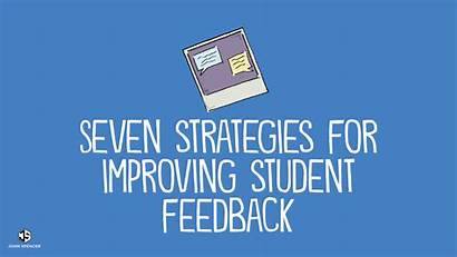 Feedback Student Strategies Improving Seven John Students