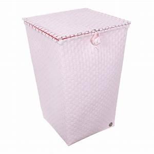 Wäschekorb Mit Deckel : handed by w schekorb mit deckel venice powder pink online kaufen emil paula ~ Frokenaadalensverden.com Haus und Dekorationen