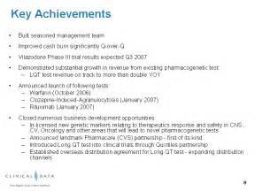 key achievements on resume exhibit 99 1