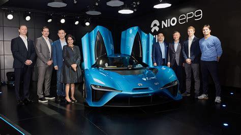 NIO - NextEV Launches NIO Brand and World's Fastest ...