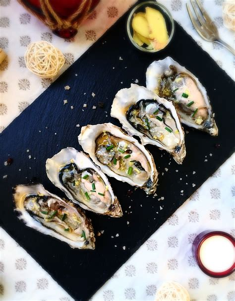 cuisiner des huitres huîtres marennes olé en tartare parfumées au gingembre