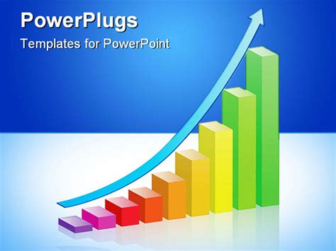 powerpoint graph colorful bar graph