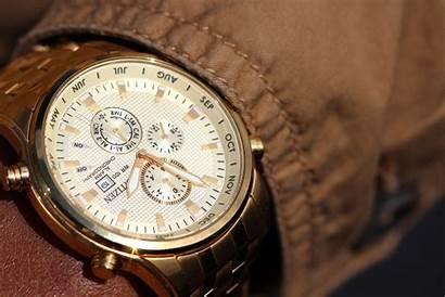 Wristwatch Close 4k