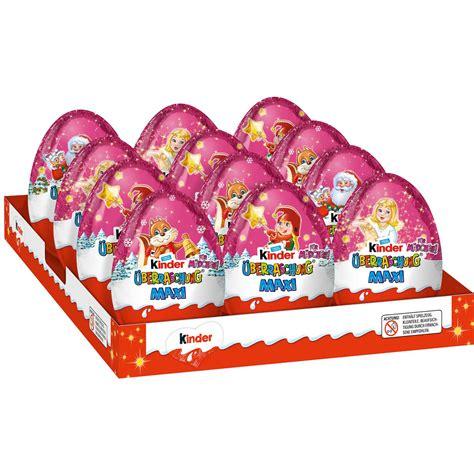 ei weihnachten kinder 220 berraschung maxi rosa ei weihnachten 100g kaufen im world of shop