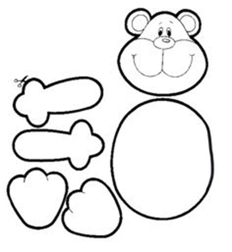 Malvorlage Bärchen Nähen Pinterest Bären Ausmalbilder Und Bastelvorlagen
