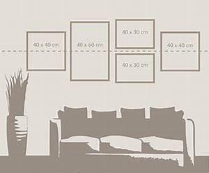 3 Bilder Nebeneinander Aufhängen : bilder aufh ngen tipps f r sch ne wanddekoration ifolor ~ Lizthompson.info Haus und Dekorationen
