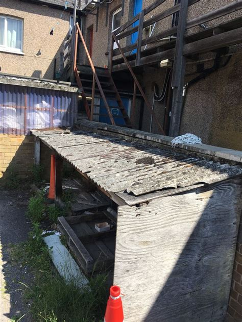 quick removal   asbestos roof sheets  southend