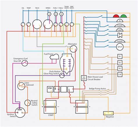 bennington pontoon boat wiring diagram