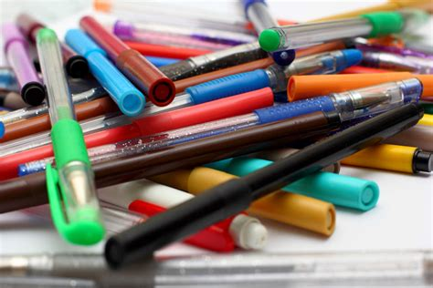 tips  storing colored pencils markers  pens