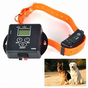 5000 square meters wireless invisible electronic pet dog With electronic dog fences for large dogs
