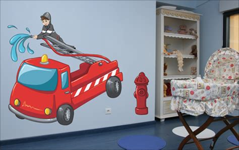 chambre deco pompier id 233 es de d 233 coration et de mobilier