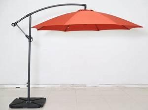 Jardiland Parasol Déporté : parasol banana rouge jardiland ~ Premium-room.com Idées de Décoration