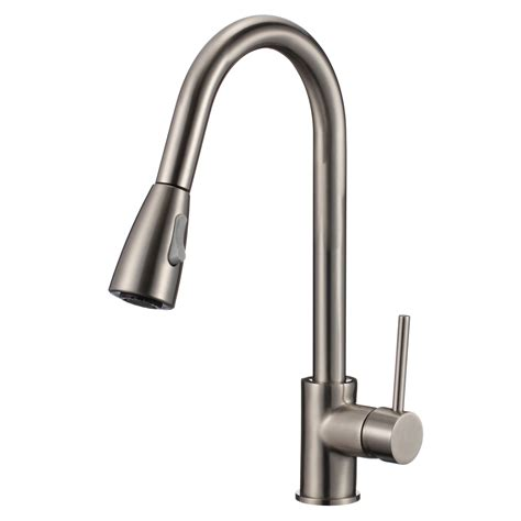 Pull Down Sink Faucet by 16 Quot Pull Down Kitchen Amp Bar Sink Faucet One Hole