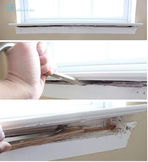 Window Sill Or Windowsill - how to install window trim pretty handy