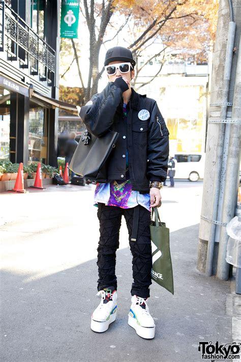 guys acv  jigen jacket phenomenon pants  harajuku
