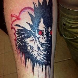 17 Badass 'Death Note' Tattoos That Will Give You ...