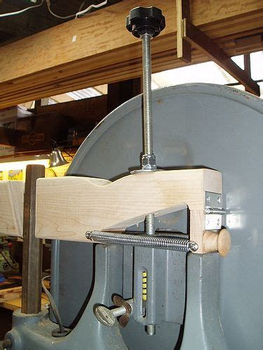 homemade bandsaw blade tension quick release  blake