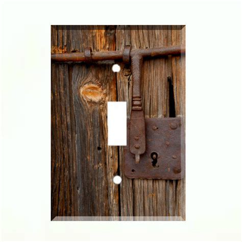 rustic light switch covers rustic barn door light switch plate wall cover country