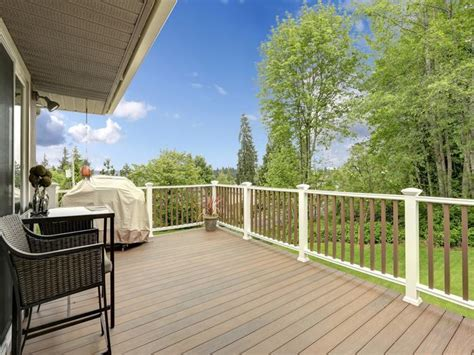 Trex Deck Pricing Home Depot by Deck New Released 2017 Vinyl Decking Prices White Vinyl
