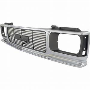 New Grille Assembly Chrome Jimmy Gmc S15 Sonoma 94 93 92