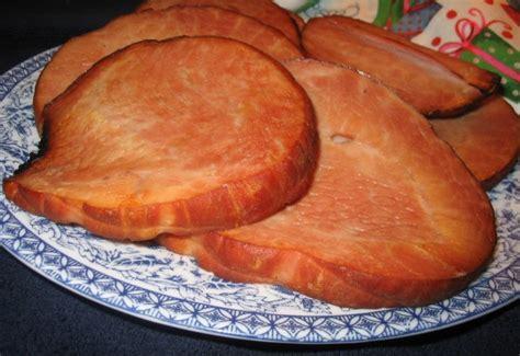 gingered ham slice recipe foodcom