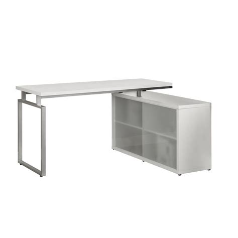 glass corner computer desk monarch specialties computer desk white corner with