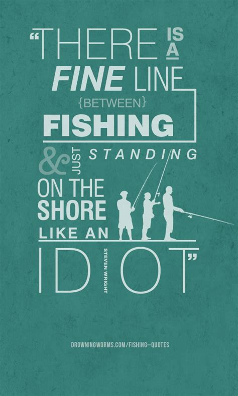 fine  fishing quote drowning worms