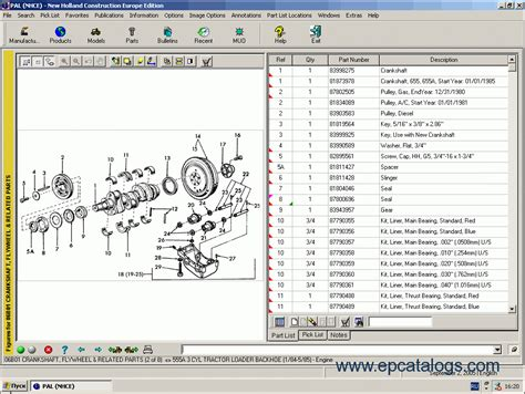 Download New Holland Construction Parts Catalog 2008