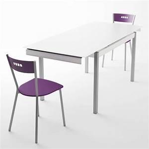 table de cuisine en verre avec rallonge bambola 4 pieds tables chaises et  tabourets 5f3c1cd47d0f