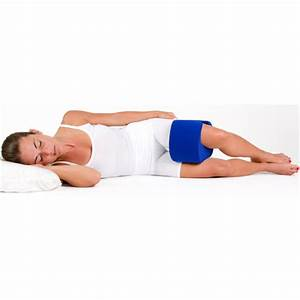 stay put knee pillow wrap around therapeutic sleep support With body pillow for back and hip pain