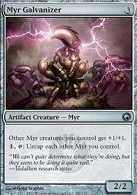 ultimate myr modern mtg deck