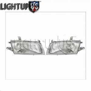 Headlight Headlamp Pair Left Right Set For 97