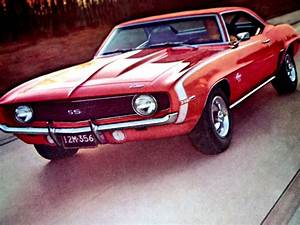1969 Chevy Camaro Ss 396 Hood Scoop Ad Rs  Cowl