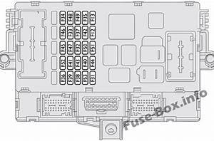 Instrument Panel Fuse Box Diagram  Fiat Ducato  2007  2008  2009  2010  2011  2012  2013  2014
