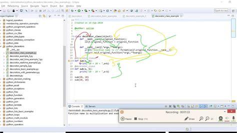 python class decorator 4 python decorator class basic exle