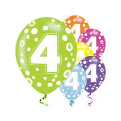 send a balloon in a box 4th birthday party balloons
