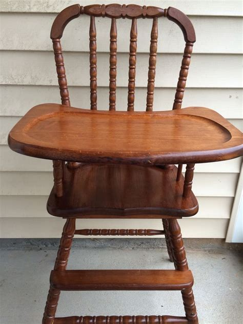 Vintage Lind Wooden High Chair by 17 Best Ideas About Vintage High Chairs On