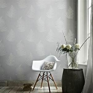 Wandgestaltung Mit Tapeten : tapete in grau stilvolle vorschl ge f r wandgestaltung ~ Lizthompson.info Haus und Dekorationen