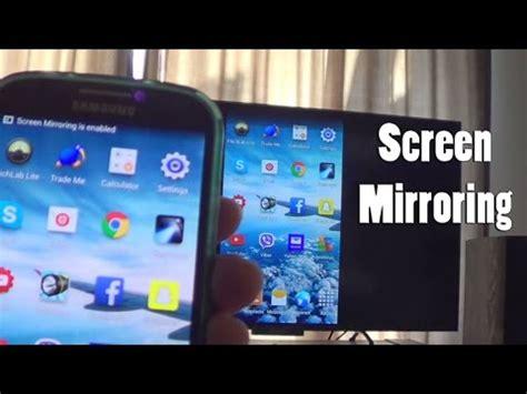 screen mirroring to samsung tv screen mirroring setup samsung galaxy s4 android 4 4 2