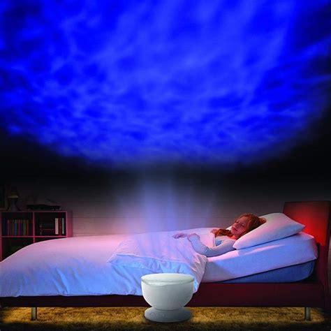 ocean wave led night mood light lamp projector  kids